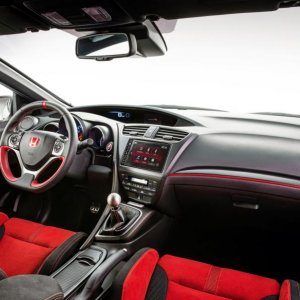Interior Civic Type R 2015