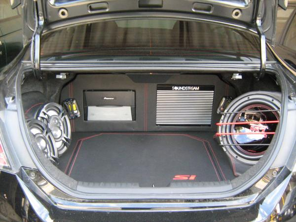 PREPARACIÓN PROAUDIO CIVIC BLACK 096